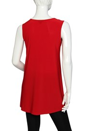 TUNIC LOUISE - red