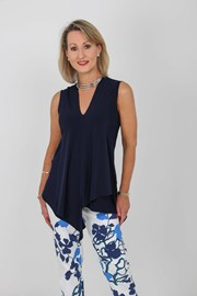 TUNIC GINA - navy