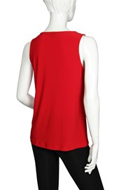 CAMI V NECK KIEV - red