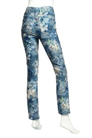 PANT VELOUR KRISTINE - floral abstract