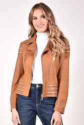JACKET LEATHERETTE SANDY