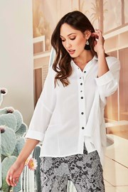 SHIRT PRESENT 6224JX COTTON - white
