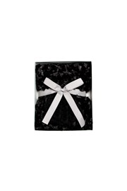 GIFT BOX SET - SCARF AND GLOVES - black