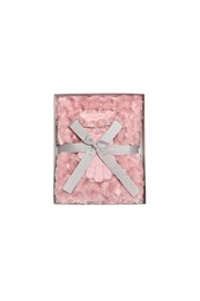 GIFT BOX SET - SCARF AND GLOVES - pink