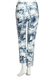 PANTS PALM LEAF - blue breeze