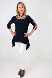 TUNIC CONCETTA - navy